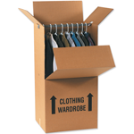packing using Wardrobe Boxes