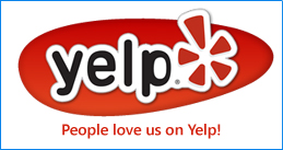 Happy customers on Yelp!