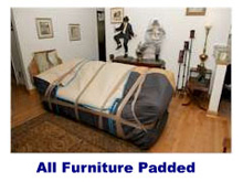 All furnitures padded